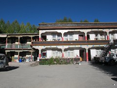 """Tibetan style guesthouse • <a style=""""font-size:0.8em;"""" href=""""http://www.flickr.com/photos/98061816@N08/10619272466/"""" target=""""_blank"""">View on Flickr</a>"""