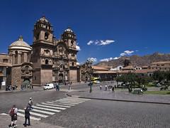 Qosqo (mardruck) Tags: travel vacation peru church southamerica inca cuzco cathedral cusco catedral iglesia per igreja latinoamerica andes 12mm 20 zuiko andino andean plazadearmas sudamerica amricadosul f20 m43 qosqo microfourthirds olympusep3