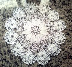 Guardanapo em crochê (Cleme - Crochês & bordados) Tags: bordados trabalhosmanuais crochê guardanapos linhafina