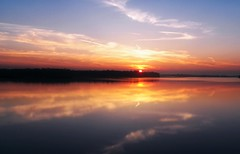 Reflective-Sunset