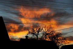 Burning clouds (Anna Vajda) Tags: sunset clouds fire sunsetclouds redclouds burningclouds nikond80
