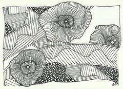 20131112_notebook_Starry_Sea_Poppy.jpg (terem13) Tags: zia tangles zentangle