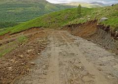 The Road To Hell (RoystonVasey) Tags: mountain canon landscape scotland track powershot glen hs eyesore blot munro beinn garbh meall creran 937m sx260 sguliard