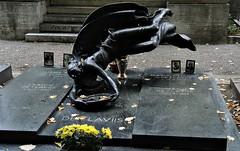 Milan cemetery (dw*c) Tags: italy sculpture cemeteries milan cemetery grave statue nikon italia milano tomb statues graves tombs picmonkey