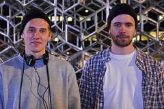 Robert & Mats - Strangers # 657 / 700 (Poupetta) Tags: robert students young strangers mats finlandssvenskar