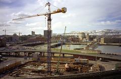 Belfast - Queen's Quay - General View and Crane 01