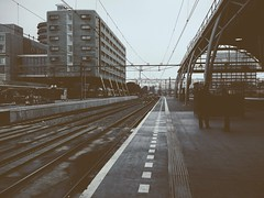 Early morning or late afternoon, deep fall (ale2000) Tags: morning autumn fall station train grey evening early grigio afte