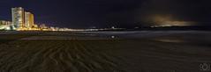 Panorama playa de San Juan (Sento MM) Tags: panorama playa alicante sanjuan nocturna panorámica largaexposición