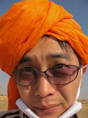 John (Synghan) Tags: boy india canon village desert indian goat powershot safari camel goats jaisalmer manju a630