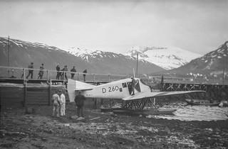PEM-BYM-N00244 Sjøflyet Junkers D260 i Tromsø havn