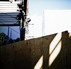 (andre dos santos) Tags: new york city nyc newyorkcity newyork 120 6x6 tlr film rollei rolleiflex zeiss square lens reflex fuji bronx twin slide chrome transparency wakefield fujifilm medium format thebronx provia provia100f twinlensreflex 100f