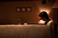 illuminated (jajajavi75) Tags: solitude starbucks studying