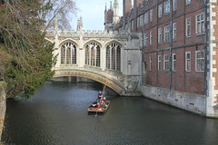 St John's college, Cambridge (judy dean) Tags: bridge cambridge stjohnscollege rivercam