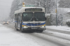 HAPPY HOLIDAYS (w.d.worden) Tags: snow vancouver december snowfall coastmountainbuscompany vancouversnow 20vancouver transit2013