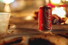 Coca-Cola Freelance (Elizabeth Kabakjian) Tags: cold drink beverage pop sweat candlelight soda cocacola sodapop