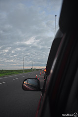 Toll traffic jam (Camille Isidro Depano) Tags: morning sky highway roadtrip tplex tolltraffic