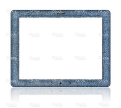 Denim Digital Tablet PC (Clipping path!) (imagesstock) Tags: blue white fashion horizontal computer design pc education pattern technology sewing laptop empty style nopeople screen canvas communication equipment business jeans whitebackground textile smartphone cotton blank frame mobilephone learning denim material copyspace isolated touchscreen mobility oldfashioned frontview pictureframe computermonitor elegance palmtop ipad digitalpictureframe clippingpath designelement electricalequipment digitaldisplay liquidcrystaldisplay isolatedonwhite personaldataassistant electronicorganizer globalcommunications informationmedium digitaltablet telecommunicationsequipment visualscreen portableinformationdevice