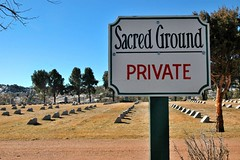 Sacred Ground (Kuby!) Tags: signs cemetery st private francis nikon colorado mt d70 ground springs sacred convent 2007 kuby kubitschek