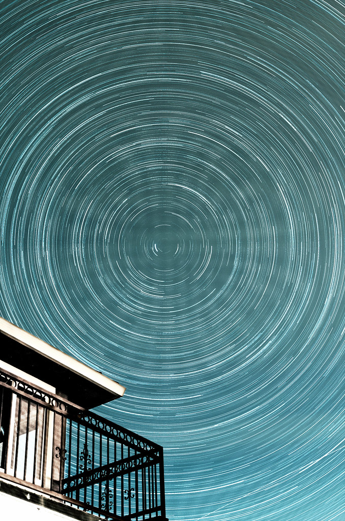 Balcony Star Trails