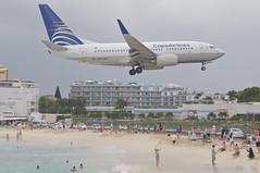 Copa Airlines Boeing 737-700; HP-1531CMP@SXM;05.01.2014/740ae (Aero Icarus) Tags: plane aircraft flugz