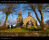 St Anne's, Brown Edge, Staffordshire (Paul Simpson Photography) Tags: trees nature headstone religion headstones graves steeple spire staffordshire hdr picturesof imageof sonya100 brownedge january2012 paulsimpsonphotography