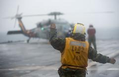 140130-N-IC565-322 (U.S. Pacific Fleet) Tags: helicopters ussdenver usnavy flightops 7thfleet lpd9 bonhommerichardamphibiousreadygroup phibron11 bradleyjgee