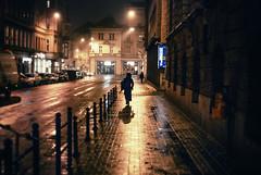 late shift (ewitsoe) Tags: street city morning winter light people snow streets cold ice 35mm dark walking early europe cityscape crossing seasons poland polska pedestrian citycenter zima chill wandering poznan wintery nikond80 ewitsoe erikwitsoe