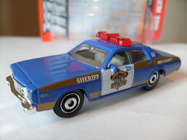 police matchbox diecast dodgemonaco