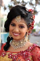 Sri Lankan Bride (Alan1954) Tags: portrait holiday smile happy bride asia marriage srilanka colombo 2014 womwn