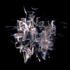 Sculptured Light:  S273-15A (Reciprocity) Tags: light abstract glass colours 35mmfilm refraction analogue caustics provia100f photogram diffraction nikkormat lightart shadowgraph experimentalphotography refractograph lenslessphotography s27315a bs1011
