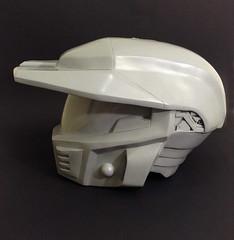 H4 Mark V Raw Cast (Tsabo Tsaboc) Tags: mark chief 4 helmet halo master v armor impact props