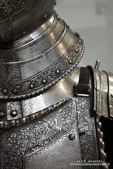 Details (DMeadows) Tags: park art history metal museum design scotland war iron rivets pattern display glasgow steel plate medieval historic collection suit engraving protection armour engraved collector protect rivet pollok burrell davidmeadows dmeadows davidameadows dameadows