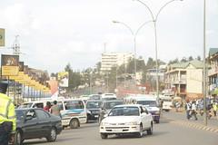 Road in Kigali
