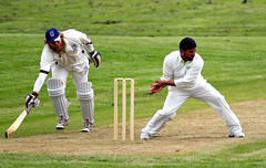 Bute CCC V Victoria CC (ufopilot) Tags: county sport club action glasgow meadows victoria cricket cc ccc isle bute rothesay