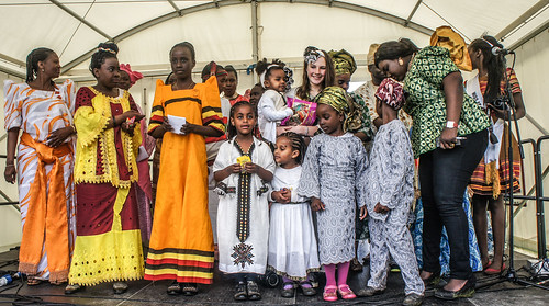 BEST DRESSED PEOPLE - AFRICA DAY 2014 IN DUBLIN