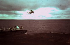 USS Eisenhower memories (JC VaBeach) Tags: europe angle f14 flight navy row helicopter deck vultures corsair hawkeye sailor launch division department uss carrier a7 dwight reactor a6 intruder tomcat eisenhower catapult rm mediterranian cvn69 airgraft
