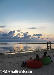 Villa Ombak Sunset_4 (Carrie Kellenberger I globetrotterI) Tags: sunset love beach indonesia island islands romance beaches romantic lombok gilitrawangan giliislands romanticsunset remoteislands indonesianbeaches