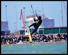 Arbeyal 15-Mayo 2014 (5) (LOT_) Tags: kite beach wind lot asturias viento spot kiteboarding kitesurfing gijon jumps arbeyal element3 switchkites asturkiters nitro3