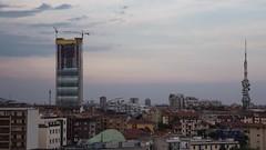 Citylife / Il Dritto / June 14, 2014 (Obliot) Tags: storm night timelapse milano flash citylife duomo temporale 2014 dritto