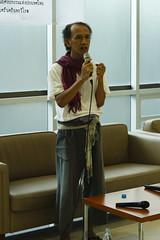 20140621-สุชาติ สวัสดิ์ศรี-33 (Sora_Wong69) Tags: art thailand lite reading book artist bangkok literature poet politic coupdetat