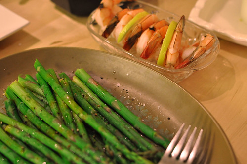 potatoes beans broccoli asparagus carrot onion parmaham... (Photo: freelowfatrecipes on Flickr)