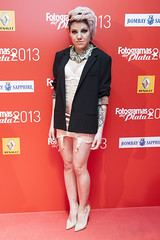 Angy en los Fotogramas de Plata 2013