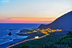 (M.K. Design) Tags: ocean longexposure sunset sea cats seascape mountains nature night sunrise landscape boats scenery glow pacific country taiwan images goats       township taitung lanyu       2015  orchidisland                 pongsonotao