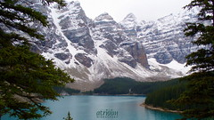 Moraine Lake, Banff National Park, Alberta, Canada (atridim) Tags: canada photo flickr widescreen alberta 169 banffnationalpark captainrick 16x9widescreen virtualjourney atridim