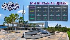 Jom Khatam Bacaan al-Quran (AnNamir™ c[_]) Tags: wallpaper nikon islam malaysia ramadan ramadhan quran puasa alquran رمضان اسلام masjidnegara islamik jadual annamir bacaanquran jubliemasmasjidnegara