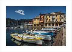 Malcesine harbour (andyrousephotography) Tags: italy malcesine harbour boats lakegarda lake sunshine bluesky canon eos 5d mkiii