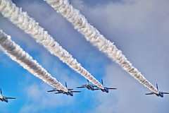 blue-impulse-and-smoke-trajectory_161016 (kazua0213) Tags: sd quattro sigma aircraft aerobatics