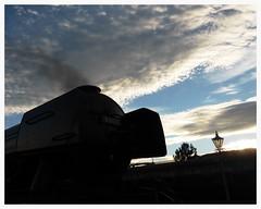 SUN SETS ON SCOTSMAN (Keith Wilko) Tags: flyingscotsman theflyingscotsman 4472 lner a3 pacific svr severnvalleyrailway sevenvalleyrailway kidderminster kidderminstersvr 462 60103 steamlocomotive sirnigelgresley gresleypacific sunsets sunset clouds skies sky smoke pacificpower svrpacificpower steamtrains steamengine railway railways railroads train lnerlocomotives famous