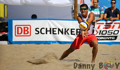 Swatch FIVB Toronto Finals (Danny VB) Tags: fivb swatch beachvolleyball volleyball torontofinals toronto canon 6d summer redbull mexico ontiveros lombardoontiveros