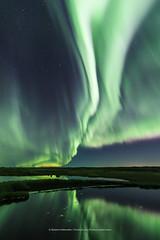 Seltjörn once more. (Kjartan Guðmundur) Tags: iceland ísland pond reflection sky stars clouds auroraborealis northernlights norðurljós nightphotography nocturne nordlys ngc zorzapolarna polarlict canon canoneos5dmarkiv kjartanguðmundur tokinaatx1628mmf28profx visipix visipixcollections
